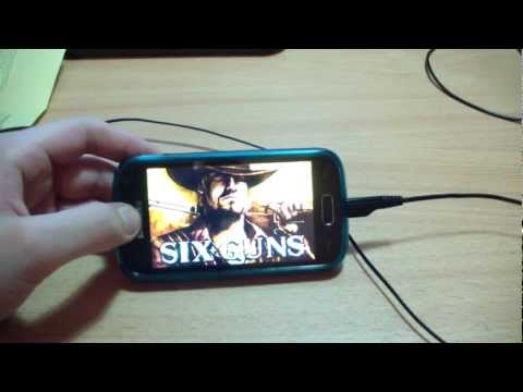 Обзор игры Six Guns На Android 4.1 Jelly Bean на Samsung Galaxy ACE 2