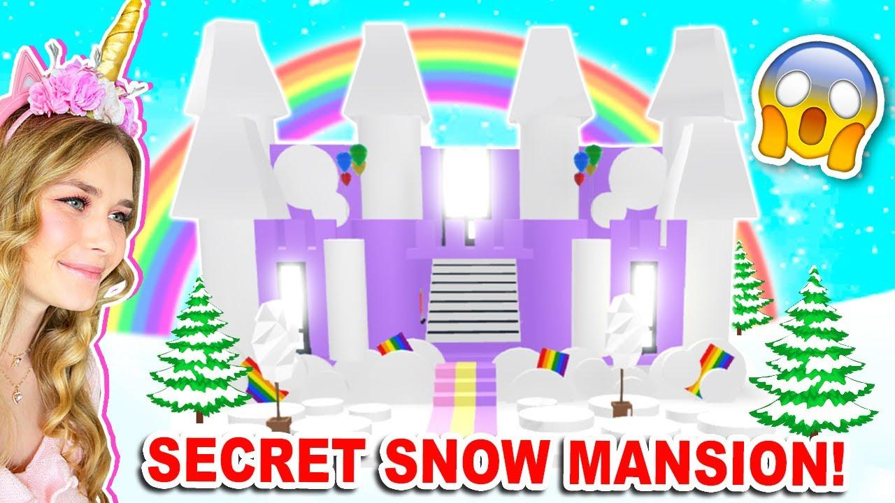 *NEW SECRET* SNOW MANSION In Adopt Me! (Roblox)