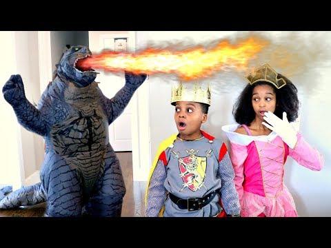 GODZILLA Takes Princess Shasha - Shiloh the Knight - Onyx Kids |