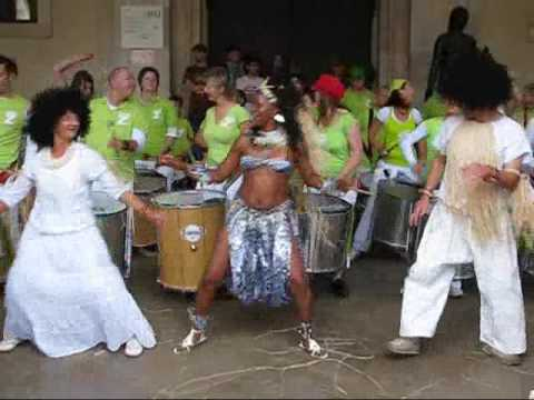 Percussion Band and Afro-brazilian Dancing