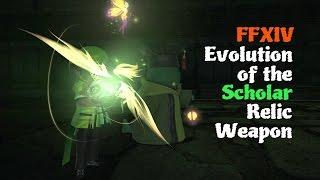 FFXIV Evolution of the Scholar Relic Weapon [Feat. WoD Battle theme (Hamartomania)]
