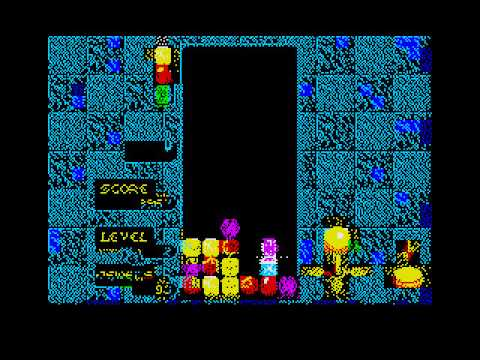 Div games studio does sega columns zx spectrum style using libSCRPLUS