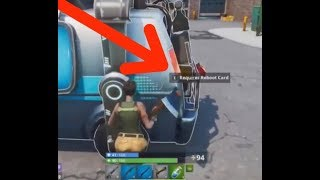 In-Game Glitch Shows Working Respawn Van During Fortnite Luxe Cup