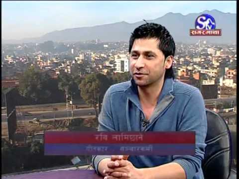 Vj Ravi Lamichhane & Vj samir sager in sagarmatha television Part A.flv
