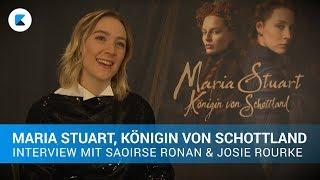 MARIA STUART, KÖNIGIN VON SCHOTTLAND | Interview mit Saoirse Ronan und Josie Rourke
