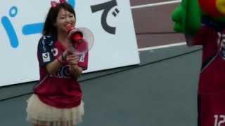 2013.5.19ファジアーノ岡山vs徳島ヴォルティス13:00キックオフ@カン...