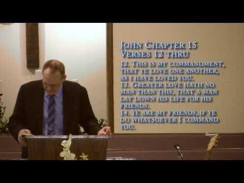 Calvary Assembly Of God Benton Arkansas- Pastor Randy Roach- January 12, 2013