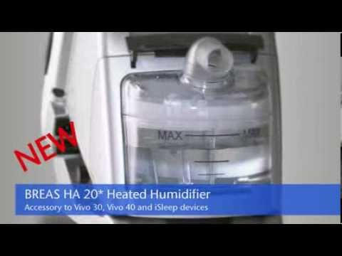 Breas HA20 Active Humidifier
