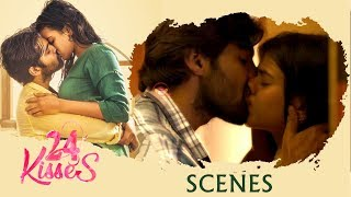 24 Kisses Hindi Movie Scenes - Adith Arun Lip Lock with Hebah Patel