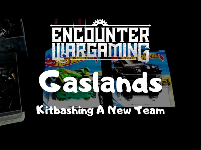 Gaslands - Kitbashing a Gaslands Team - Why Gaslands is the easiest game to get into