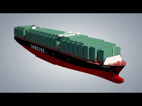 Top 10 Biggest Container Ships 2017