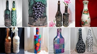 20 ideas decor bottles. Decor with their hands
