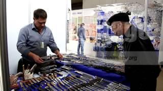 Ножи Булат Домаск Ворсма(купить исходный видеоматериал: http://minimaltv.org/viditem.php?id=1763 правообладатель: http://minimalTV.org УралЮвелир - Весна -..., 2013-04-15T14:12:24.000Z)