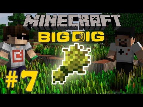 Minecraft: Big Dig #7 - OTOMATİK TARLA!