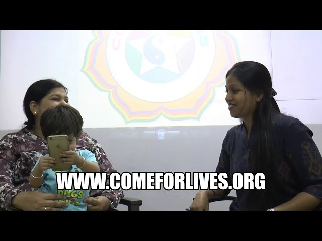 Baby Girl Treatment for Cough and Cold at COME for LIVES