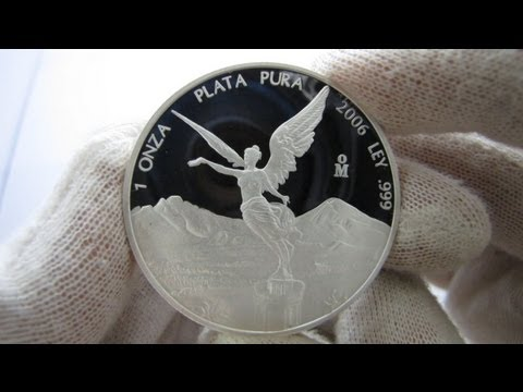 [HD] The Mexican Libertad - 1 oz Proof Silver Coin
