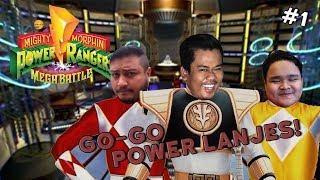 GO-GO POWER LENJES!   Power Rangers Mega Battle (Bhg 1)
