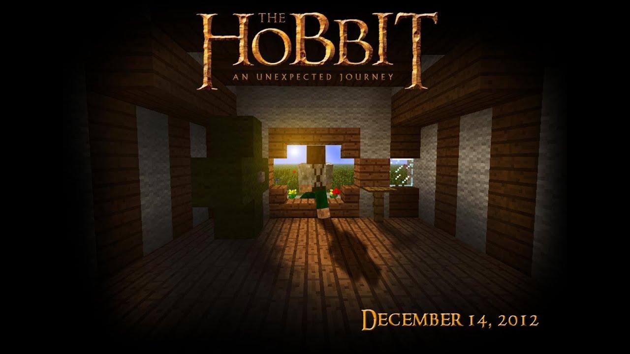 The Hobbit A Minecraft Trailer  YouTube