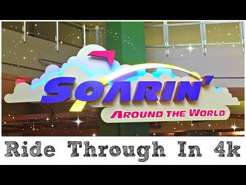 Soarin' Over The World | New 2016 Film Full Ride Through 4K