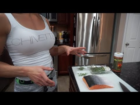 How to cook salmon on the stove in a pan