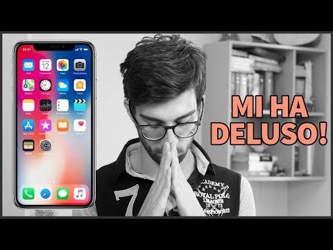 iPhone X (per ora) mi ha DELUSO!