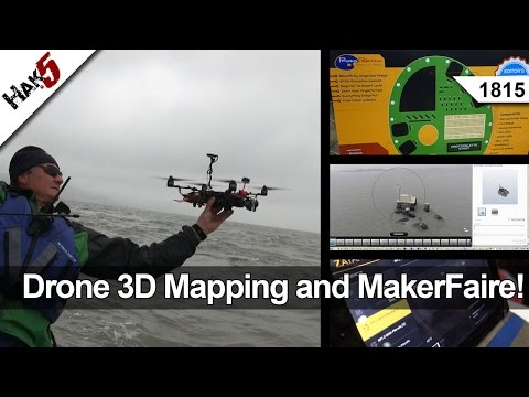 Drone 3D Mapping and MakerFaire! - Hak5 1815