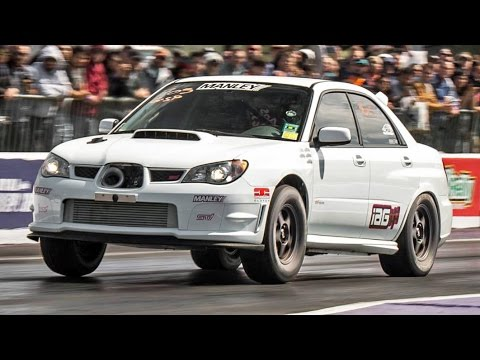 V8 Bait 1000hp Subaru Shoots For 8 S Youtube