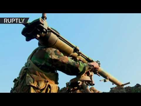 RAW: Syrian army resumes anti-ISIS operation in western Raqqa