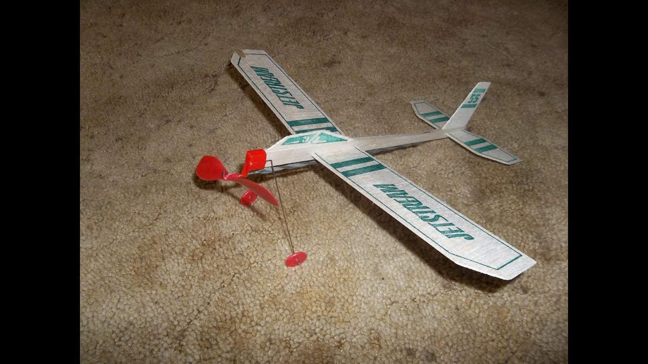 Rubber Band Powered Airplanes 40