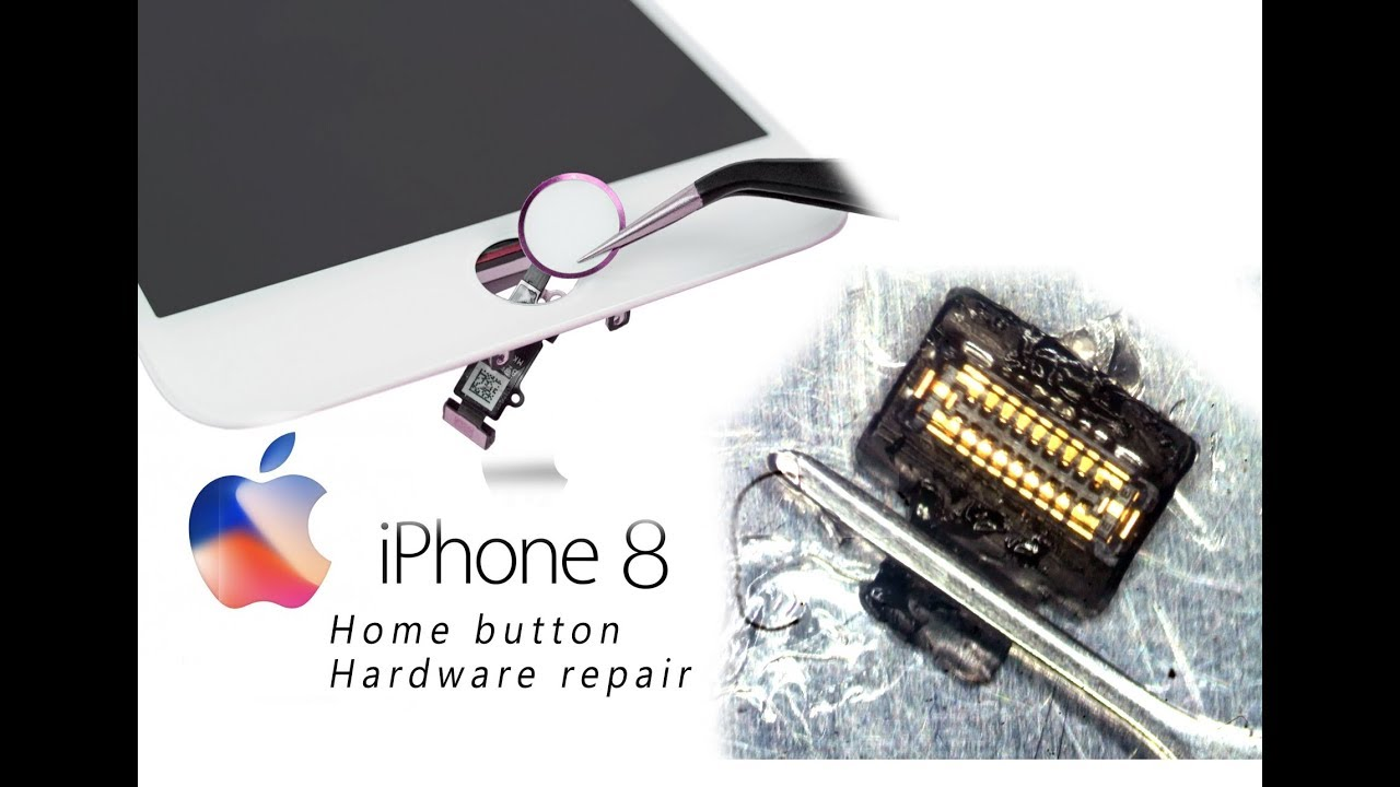 new style a7515 d9123 DIY iPhone 8 Home Button Touch ID Hardware Repair / Home- und  Touch-ID-Reparatur