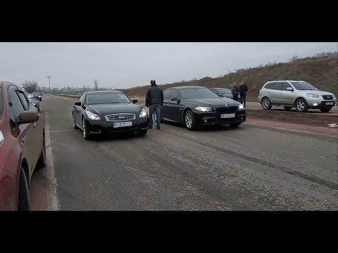 Одесса 6й километр Миллениум Infiniti G37 Lexus IS F Mercedes CL500 Subaru Wrx AUDI RSQ3