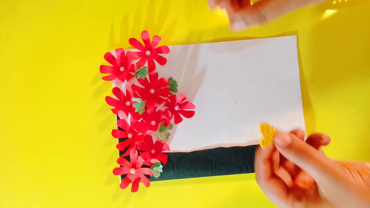 Beautiful Valentine Day's special card making idea/diy greeting card making idea for Valentine days