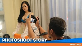 Video Seru! Behind the Scenes Photoshoot Model FIKA - Male Indonesia download MP3, 3GP, MP4, WEBM, AVI, FLV Juni 2018