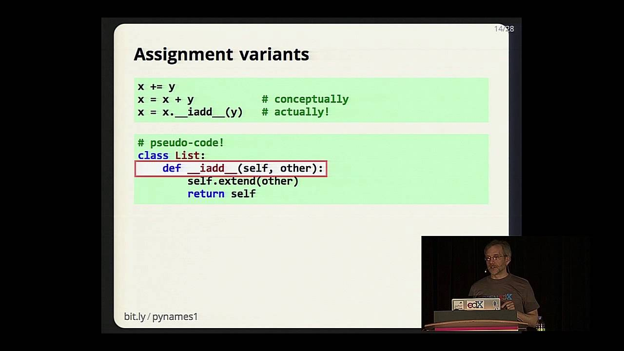 Download Ned Batchelder - Facts and Myths about Python names and values - PyCon 2015