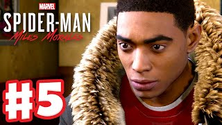 Joining Phin? - Spider-Man: Miles Morales - PS5 Gameplay Walkthrough Part 5 (PS5 4K)