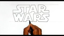 How to Draw the Star Wars Logo