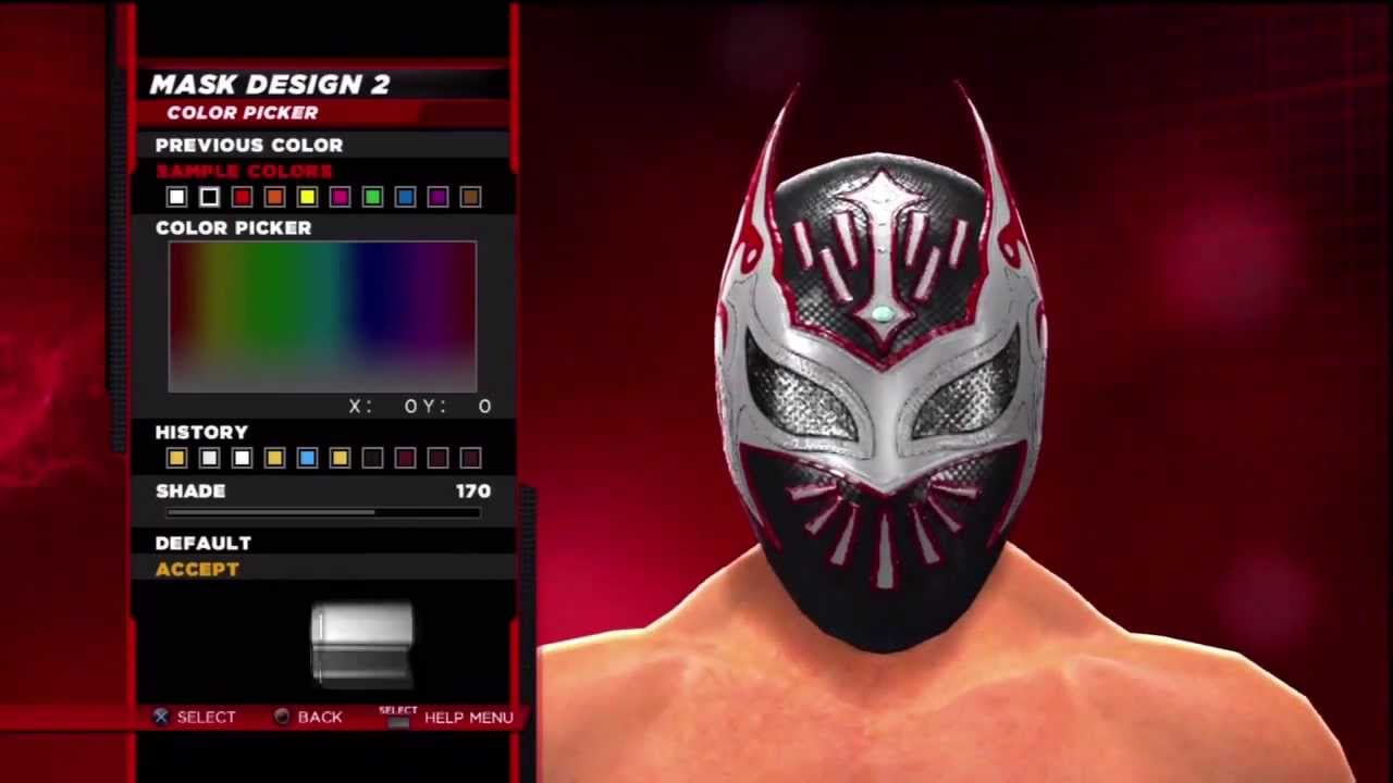 WWE 2K14 Superstar Threads Evil Sin Cara Black,Red & White 2011 Ring ...