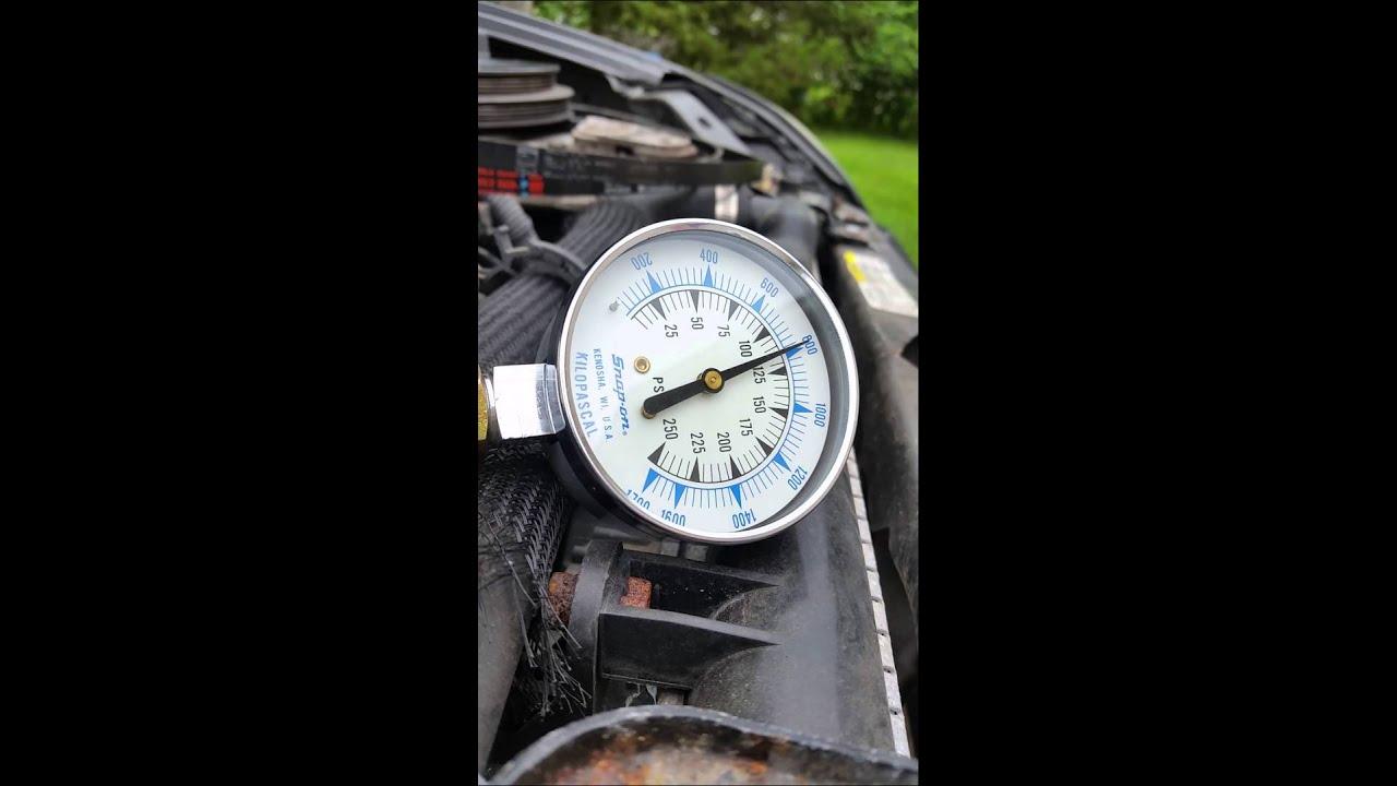 2003 dodge neon 2 0 timing belt compression test