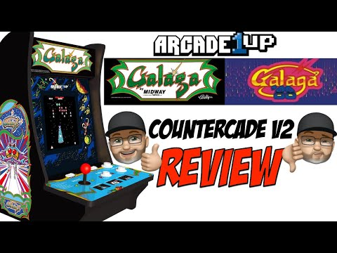 Review: Arcade 1Up Galaga / Galaga 88 Countercade V2 from moxxi