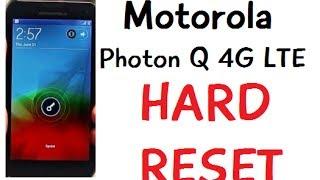 how to hard reset wipe data factory reset motorola photon q 4g lte