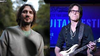 John Frusciante Praises Steve Vai! (April 13, 2021)
