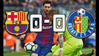 RÉSUMÉ BARÇA VS GETAFE 0-0 | LE RETOUR DE DEMBELE !