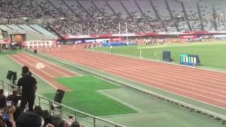2017年陸上競技 日本選手権 女子100m決勝