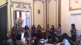 Cordana Youth Choir - sneak peek in Bucharest