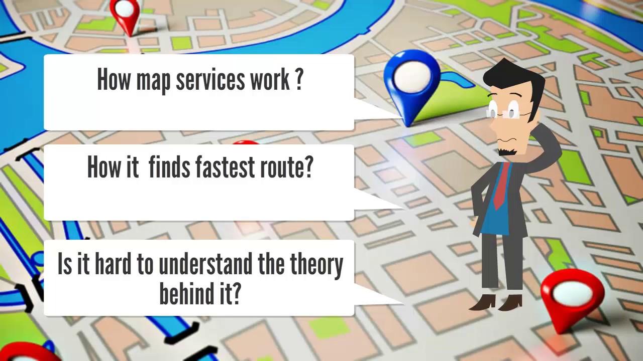 on application google map