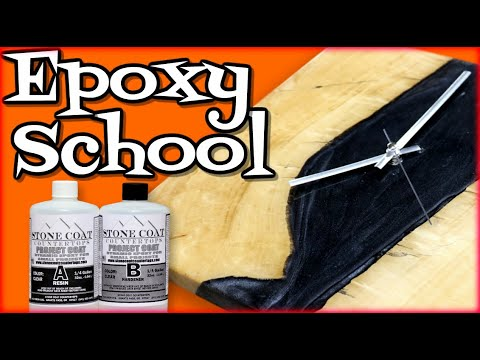 Woodworking Epoxy School
