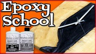 Woodworking Epoxy School