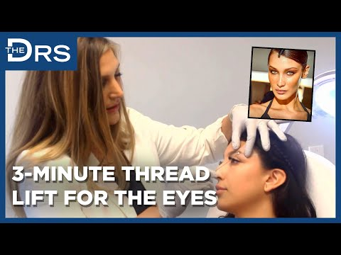 PDO Max®'s Director of Training, Dina BenDavid, Featured on 'The Doctors' Showcasing Her Lifted, Upturned Eye Technique