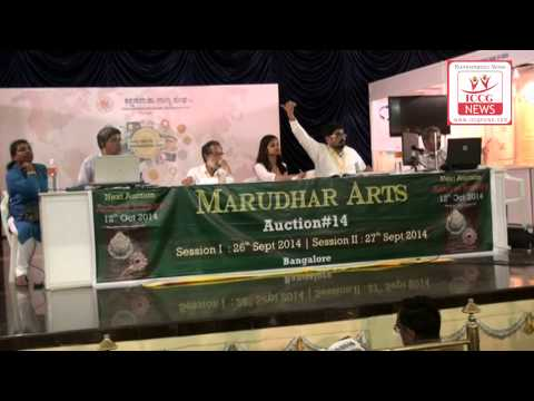 Marudhar Arts Auction session  2 At Karnataka Numismatic Society Coin Fair Bangalore 2014
