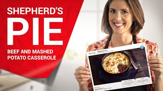 Shepherd&#39s Pie, Beef and Mashed Potato Casserole  A Classic British Recipe